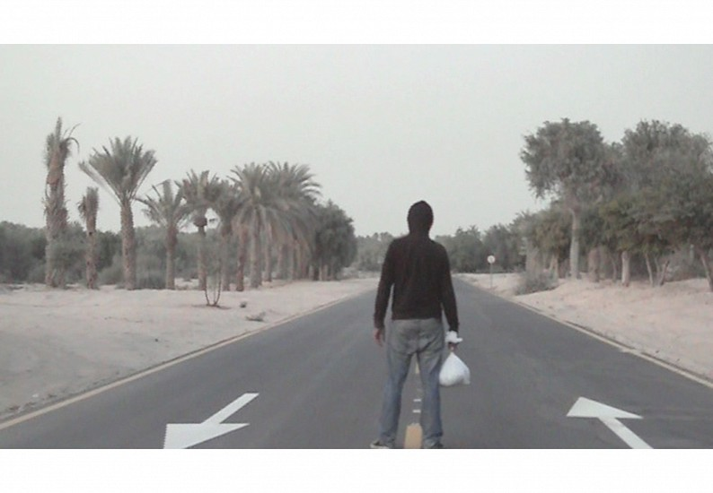 Sami Al Turki, Running 2008, Video installation