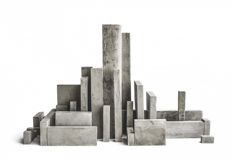 Nasser Al Salem, They Will Be Seen Competing In Costructing Lofty Buildings 2014, Concrete Sculpture