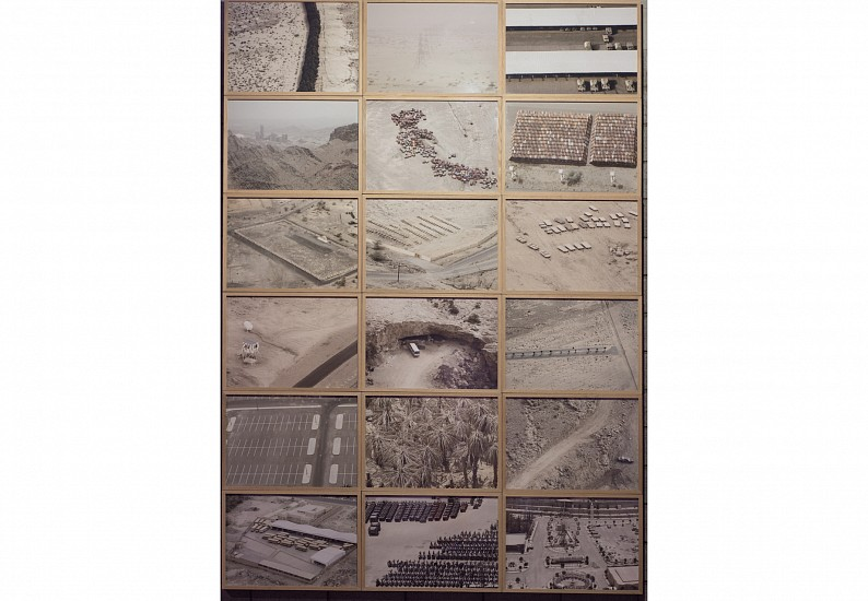 Ahmed Mater, Empty Lands 2012, Photography (x18)