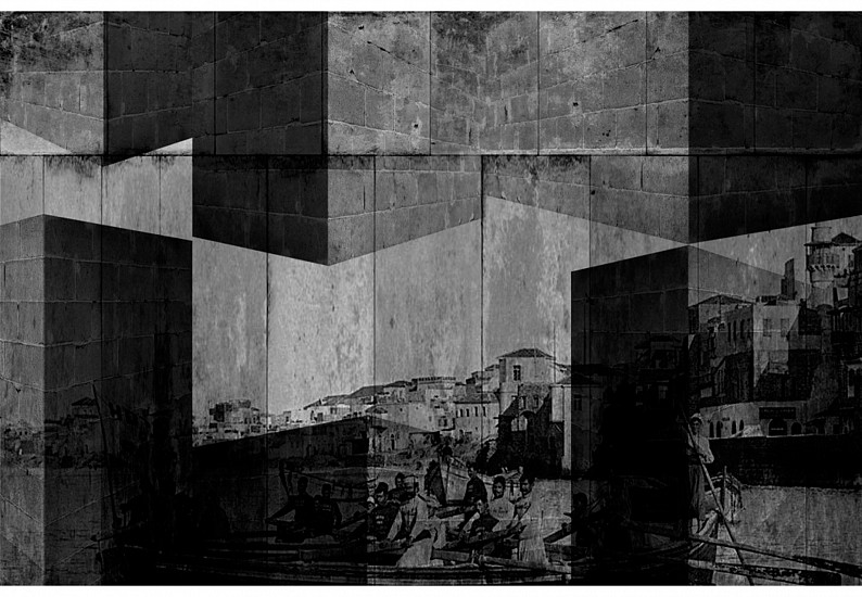 Hazem Harb, Beyond memory Series # 2/3 2012, Silver Gelatin on archival paper