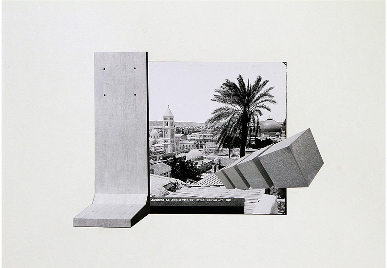 Hazem Harb, Untitled #12 from the Archaeology of Occupation series 2015, Print on Hahnemuhle FineArt Baryta 325gms mounted on 3mm aluminium composite