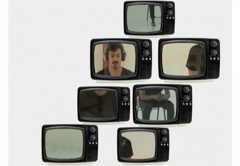 Abdullah Al Othman, The Experiment from the No-Touch Torture series 2015, Video installation