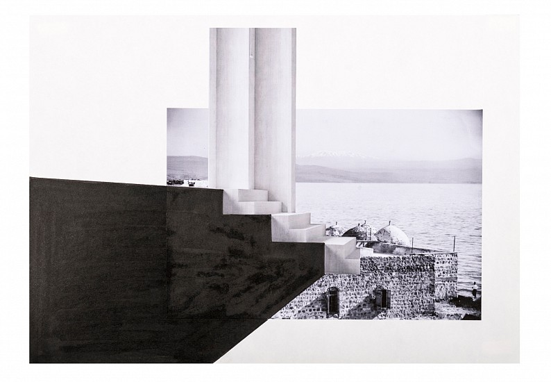 Hazem Harb, Untitled #4 from the Archaeology of Occupation series 2015, Print Collage