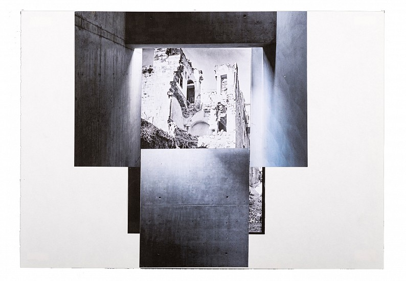 Hazem Harb, Untitled #7 from the Archaeology of Occupation series 2015, Print Collage