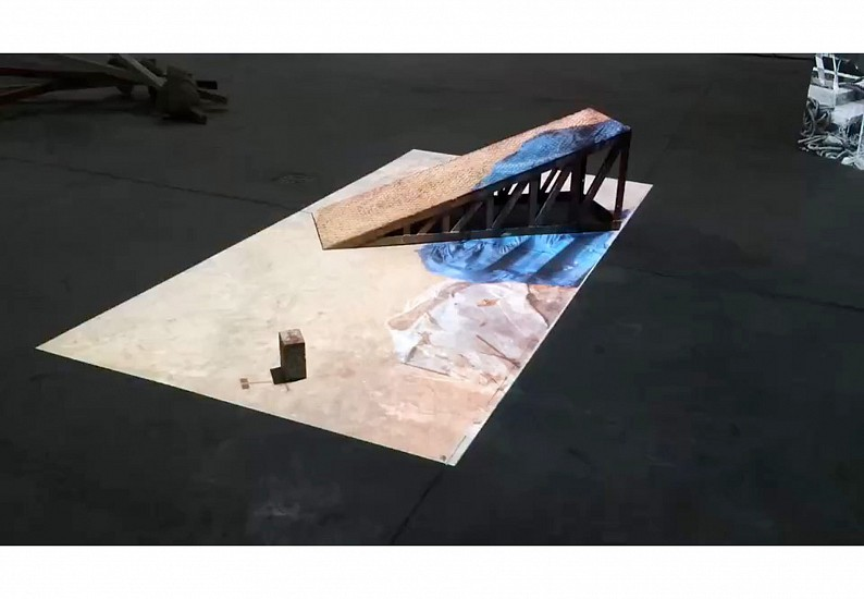 Hazem Harb, Transformations of Space & Time 2015, Video installation